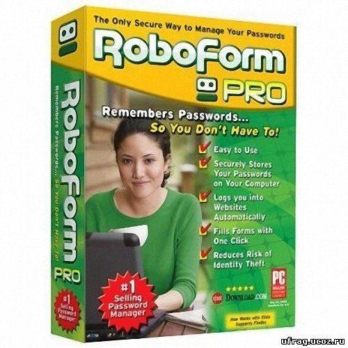 AI Roboform Pro - программа, являющаяся менеджером паролей и заполнителем в